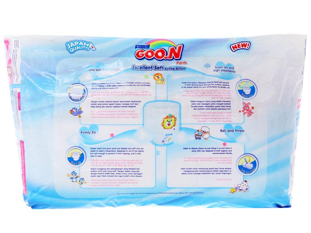 Tã quần Goon Excellent Soft Size M 32 miếng (cho bé 7 - 12kg) 2