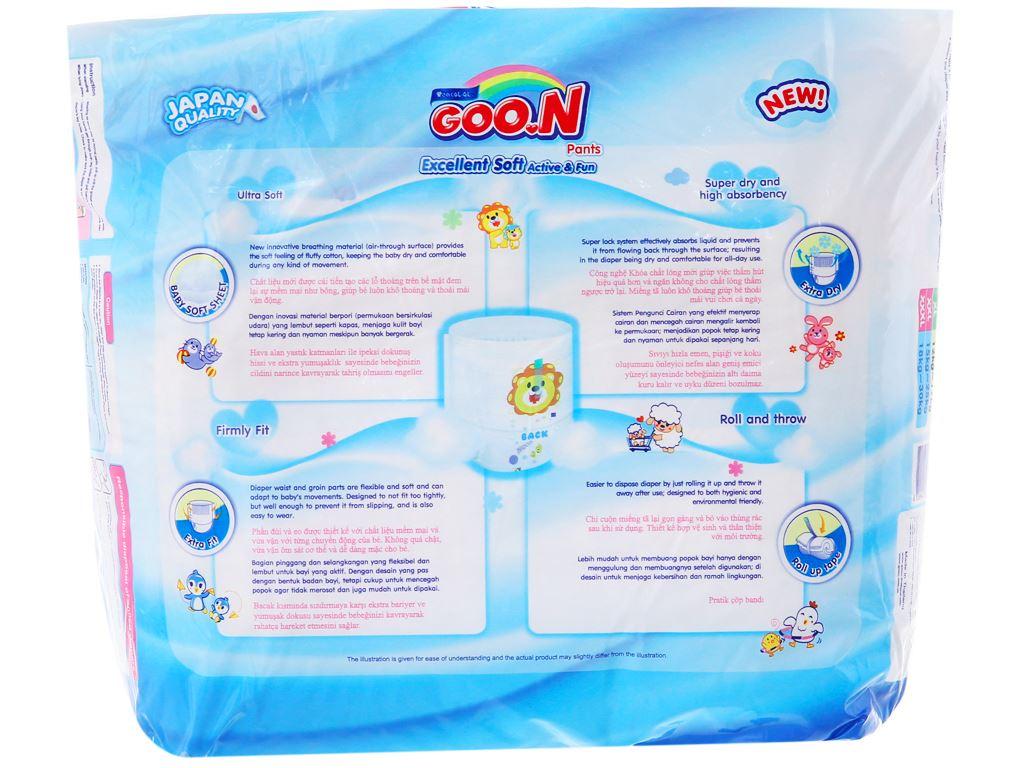 Tã quần Goo.n Excellent Soft size XL 22 miếng (cho bé 12 - 17kg) 2