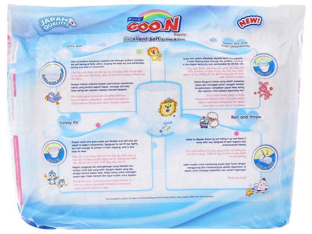 Tã quần Goo.n Excellent Soft size L 26 miếng (cho bé 9 - 14kg) 2