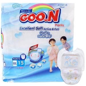 Tã quần Goon Excellent Soft Size XXXL 18 - 30kg (15 miếng)