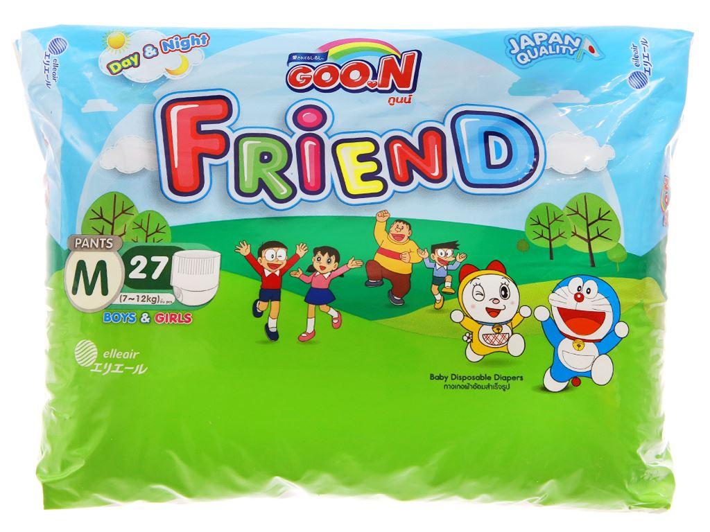 Tã quần Goon Friend Size M 27 miếng (cho bé 7 - 12kg) 1