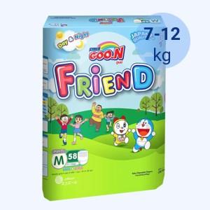 Tã quần Goo.n Friend size M 58 miếng (cho bé 7 - 12kg)