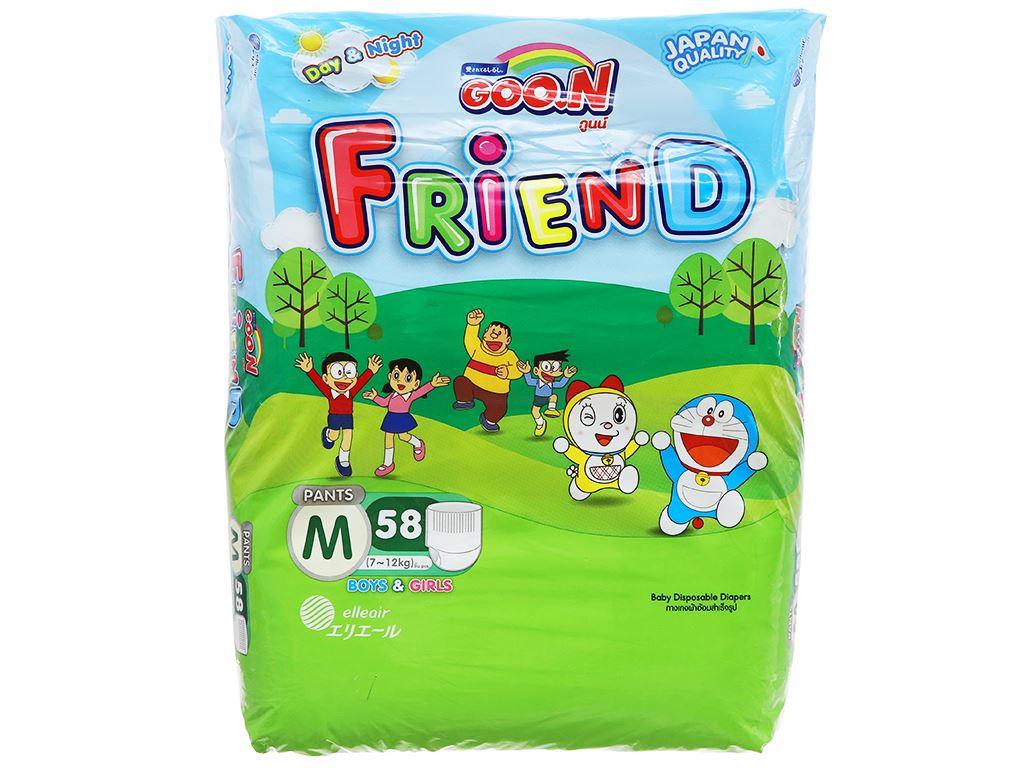 Tã quần Goon Friend size M 58 miếng (cho bé 7 - 12kg) 1