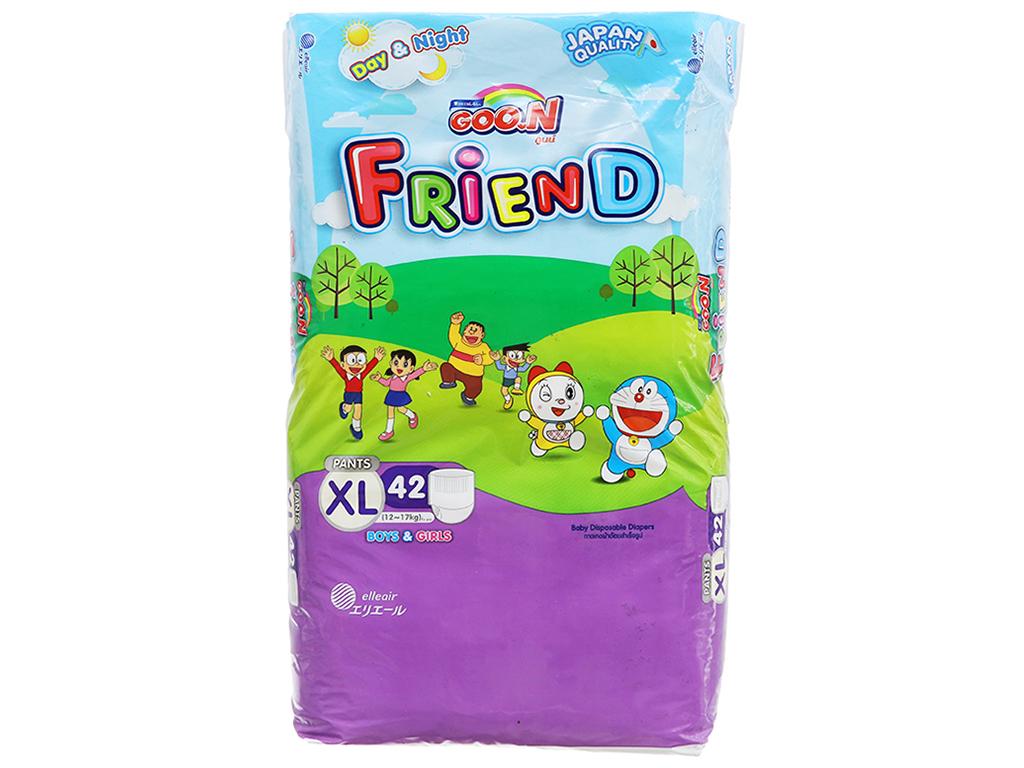 Tã quần Goo.n Friend size XL 42 miếng (cho bé 12 - 17kg) 1