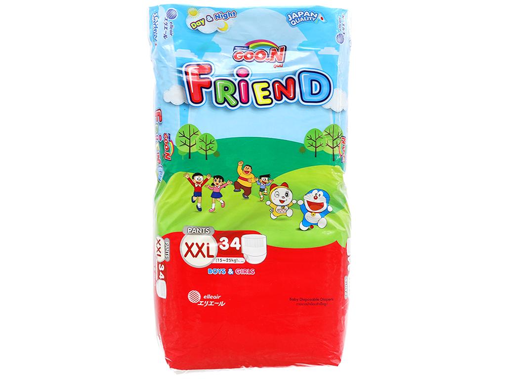 Tã quần Goo.n Friend size XXL 34 miếng (cho bé 15 - 25kg) 1