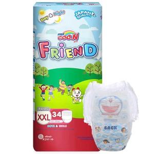 Tã quần Goo.n Friend size XXL 34 miếng (cho bé 15 - 25kg)