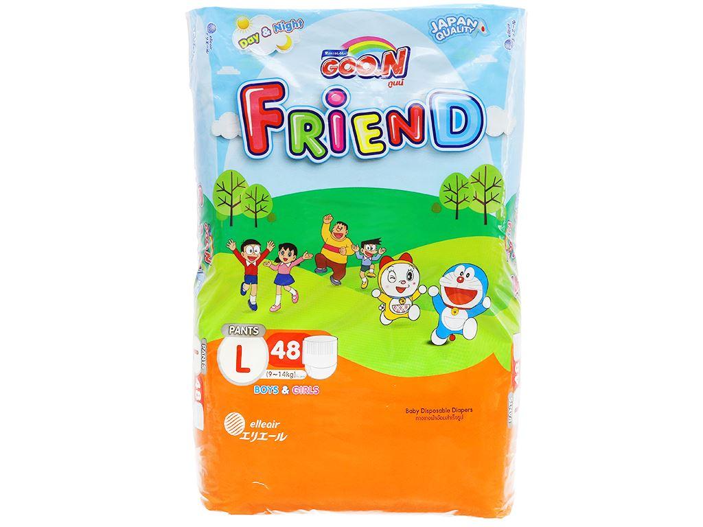 Tã quần Goo.n Friend size L 48 miếng (cho bé 9 - 14kg) 1