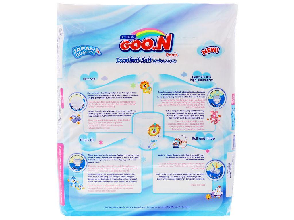 Tã quần Goo.n Excellent Soft size M 60 miếng (cho bé 7 - 12kg) 2