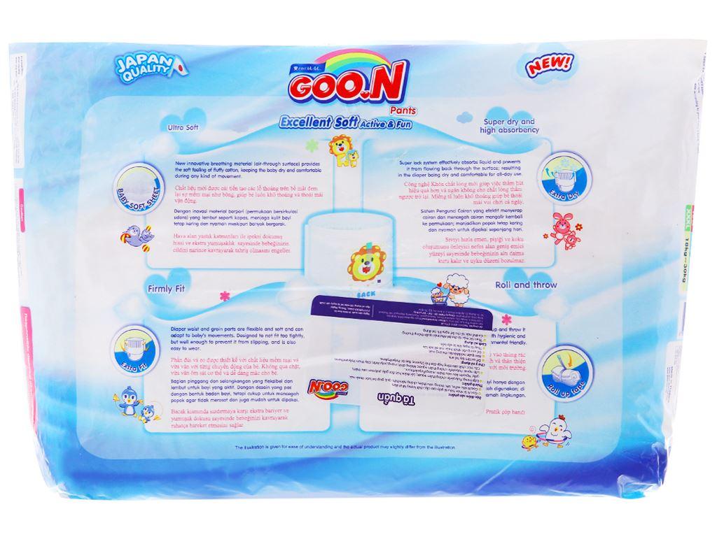 Tã quần Goon Excellent Soft Size XXXL 26 miếng (cho bé 18 - 30kg) 2