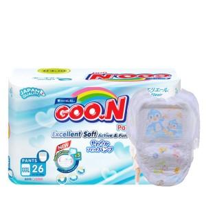 Tã quần Goo.n Excellent Soft size XXXL 26 miếng (cho bé 18 - 30kg)