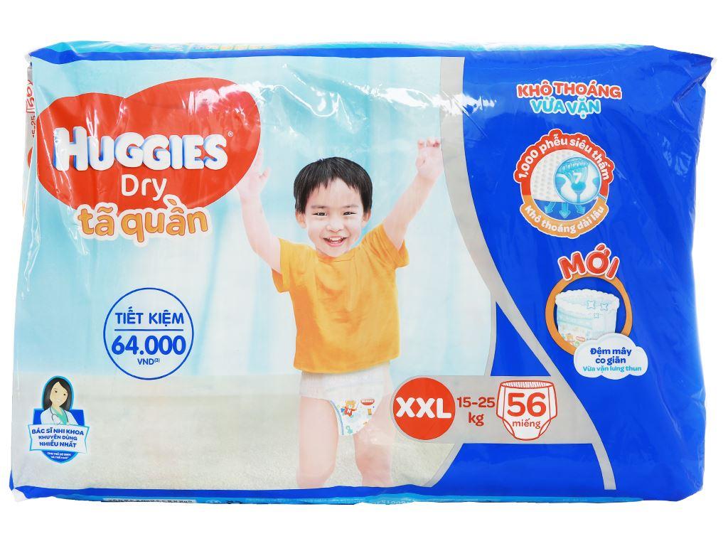 Tã quần Huggies Dry size XXL 56 miếng (cho bé 15 - 25kg) 2
