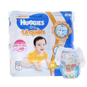 Tã quần Huggies Dry size M 74 miếng (cho bé 6 - 11kg)
