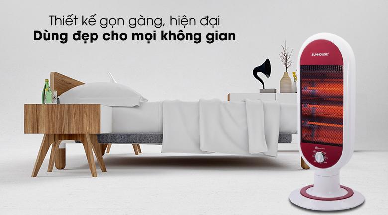 Sang đẹp - Quạt Sưởi Hồng ngoại Sunhouse SHD7022
