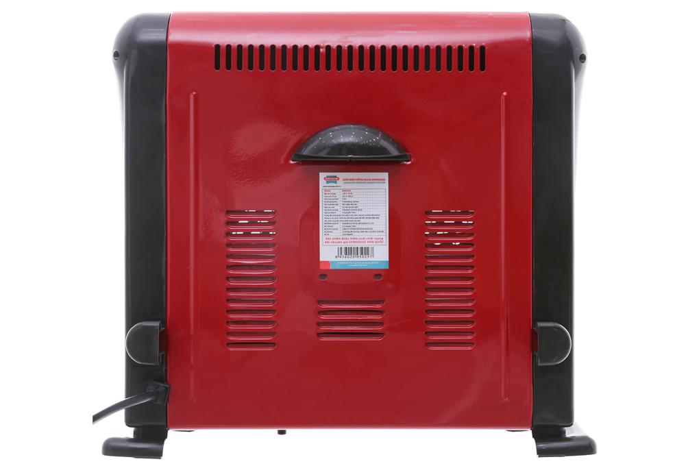 Quạt sưởi hồng ngoại có những chống cháy như tự ngắt khi bị đổ ngã, tăng sự an toàn khi sử dụng vào buổi tối khi đi ngủ - Quạt sưởi hồng ngoại Sunhouse SHD7013-KG 800 W