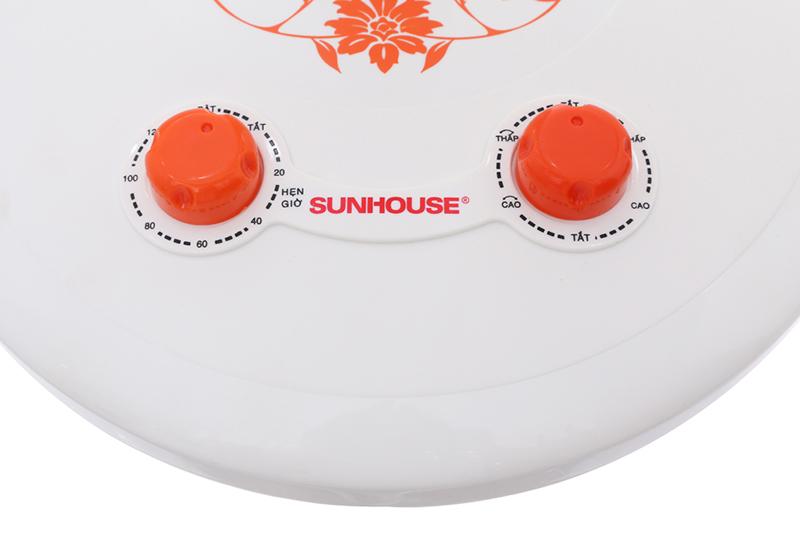 Dễ dùng, tiện lợi - Quạt sưởi halogen Sunhouse SHD7005 - KG