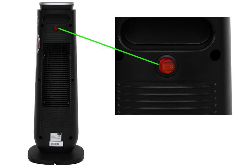 An toàn, sưởi tốt - Quạt sưởi nhiệt Midea MH-P20-AR