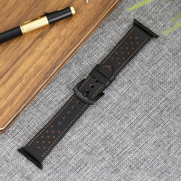 Dây đeo Apple watch 38-40mm Jinya JA4011 Đen
