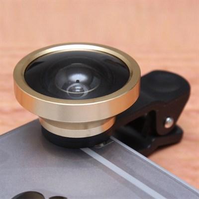 Ống kính cho điện thoại 0.4X Góc rộng Vàng
