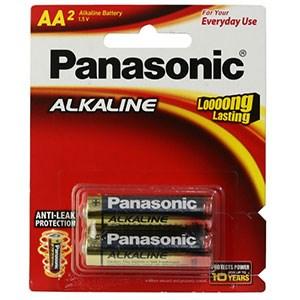 Pin AA 2 viên Alkaline Panasonic LR6T/2B-V
