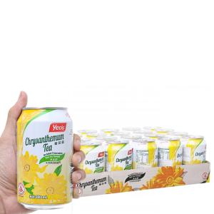 Thùng 24 lon trà hoa cúc Yeo's 300ml