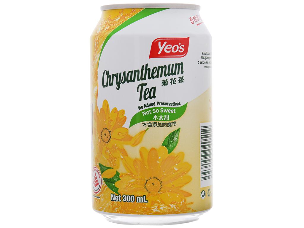 Thùng 24 lon trà hoa cúc Yeo's 300ml 2