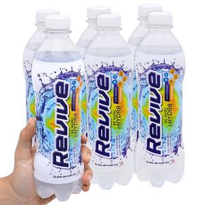 6 chai nước uống Isotonic Revive muối khoáng 500ml