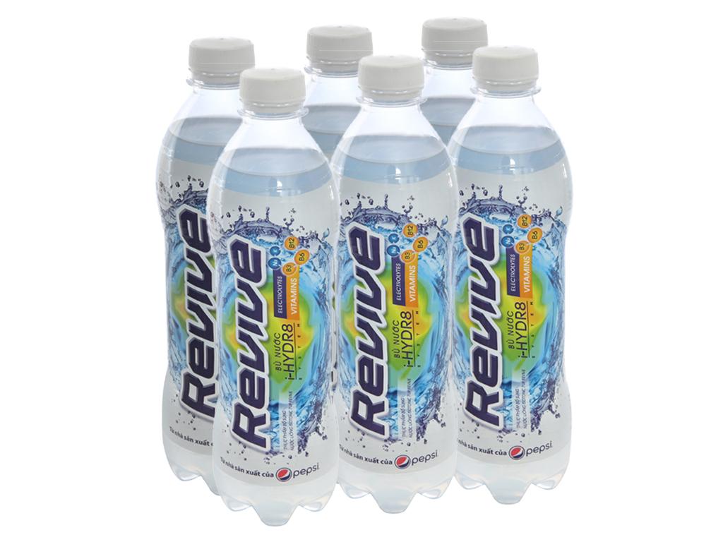 6 chai nước uống Isotonic Revive muối khoáng 500ml 1