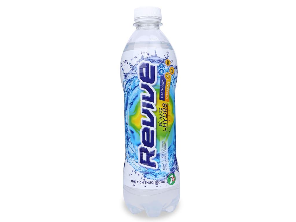 6 chai nước uống Isotonic Revive muối khoáng 500ml 5