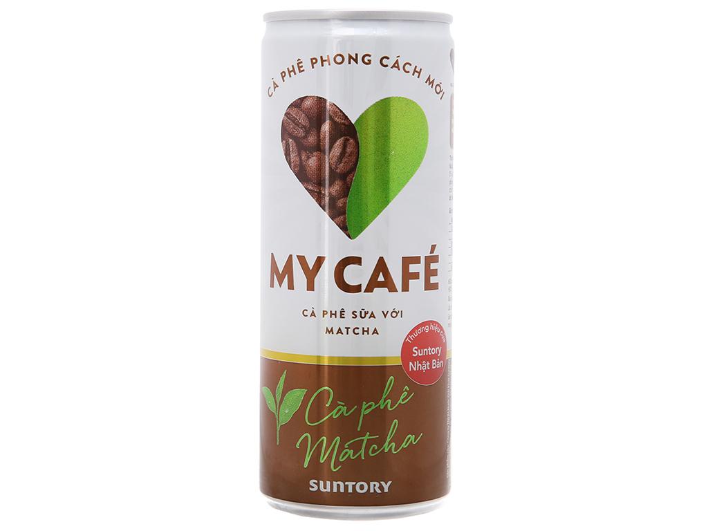 Cà phê sữa My Café matcha 235ml 2