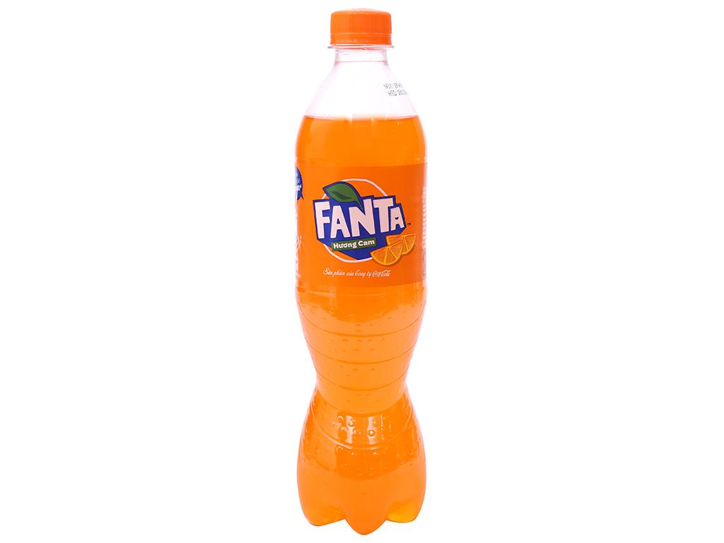 Nước ngọt Fanta vị cam 600ml 1