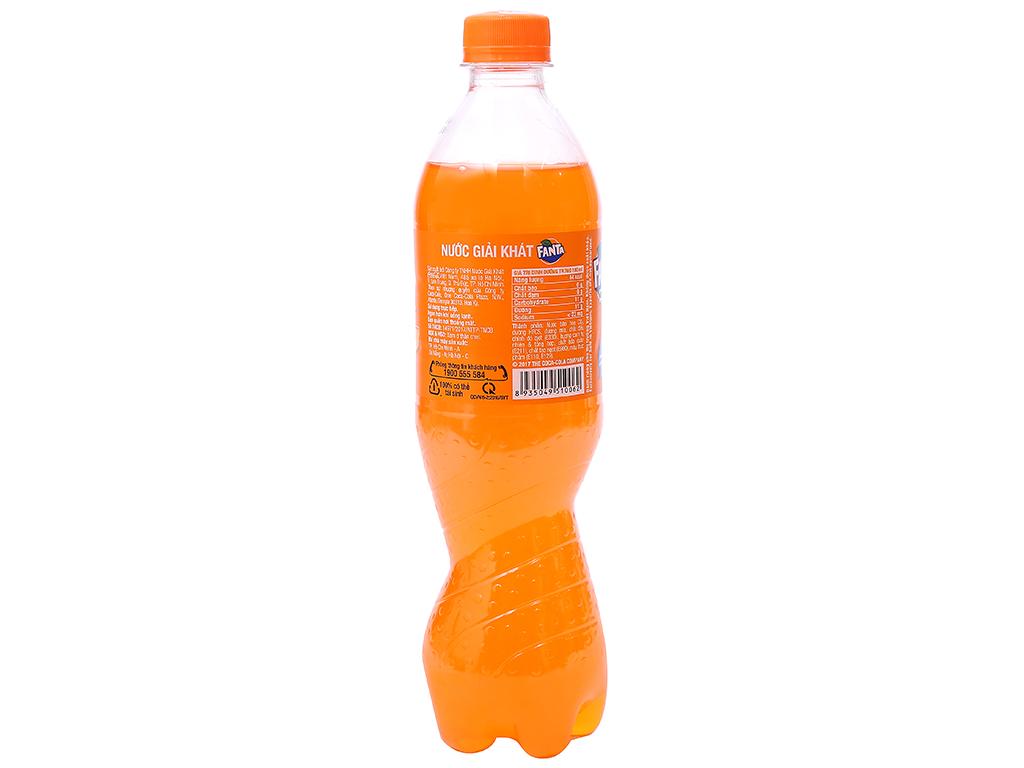 Nước ngọt Fanta vị cam 600ml 2