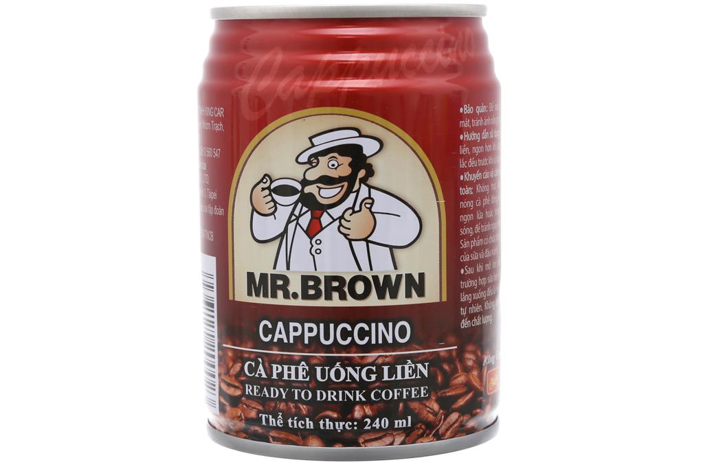 Cappuccino Mr.Brown 240ml 2