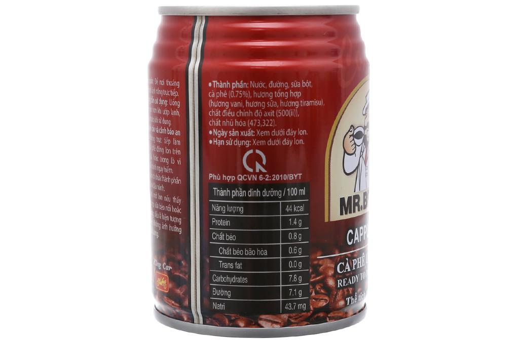 Cappuccino Mr.Brown 240ml 3