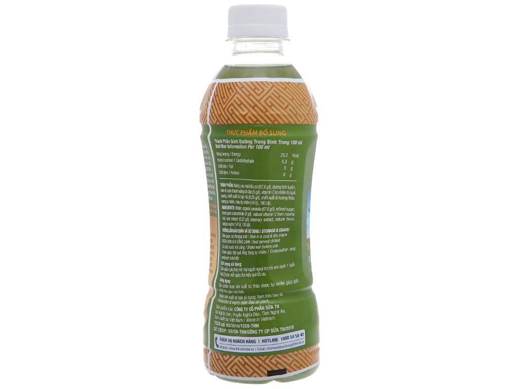 TH True Herbal rau má, chanh và bạc hà 345ml 2