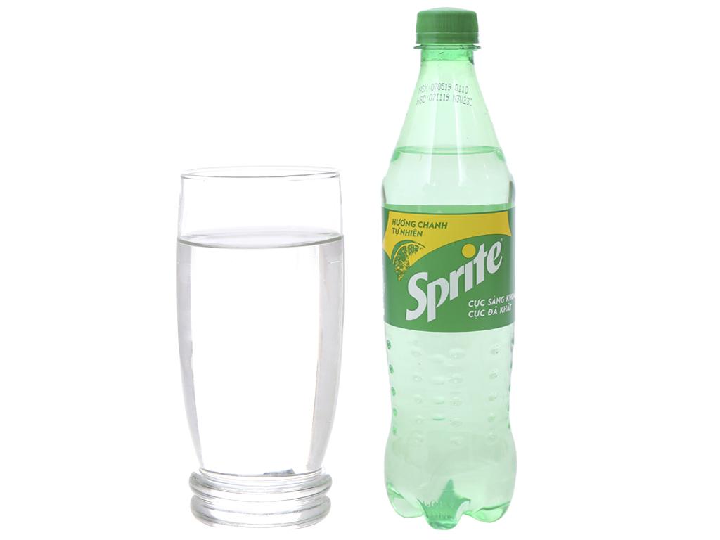 Nước ngọt Sprite hương chanh 600ml 8