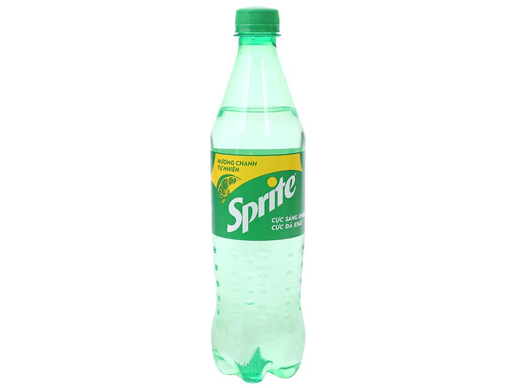 Nước ngọt Sprite hương chanh 600ml 5