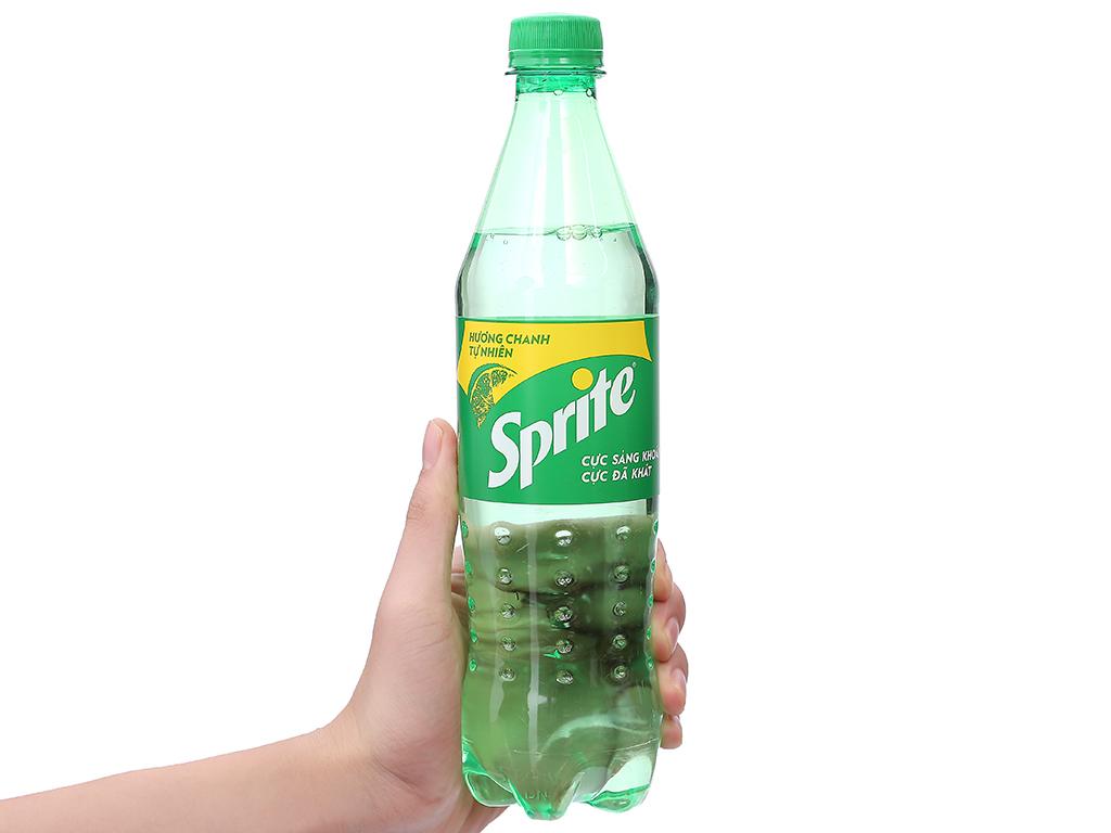 Nước ngọt Sprite hương chanh 600ml 9
