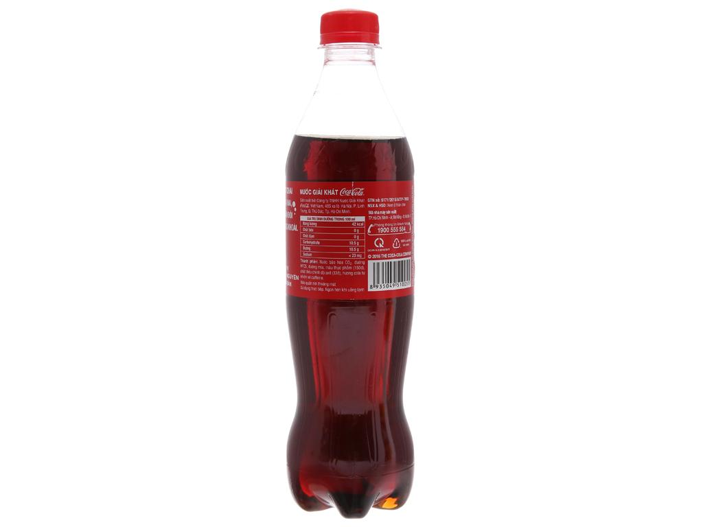Nước ngọt Coca Cola 600ml 2