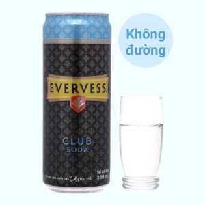 Evervess Club Soda 330ml