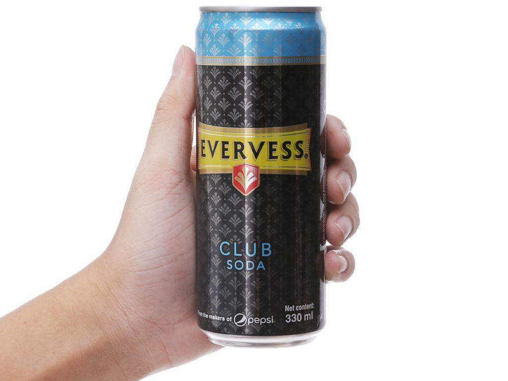 Evervess Club Soda 330ml 5