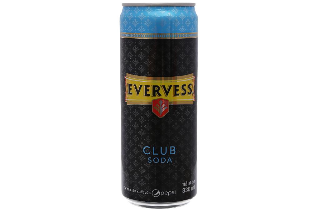 Soda Evervess Sleek lon 330ml