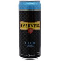 Nước soda Evervess Club lon 330ml