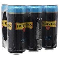 Nước Soda Evervess Club lon 330ml (6 lon)