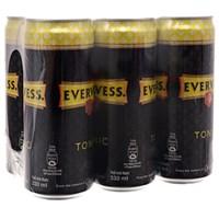 Nước ngọt có ga Evervess Tonic lon 330ml (6 lon)