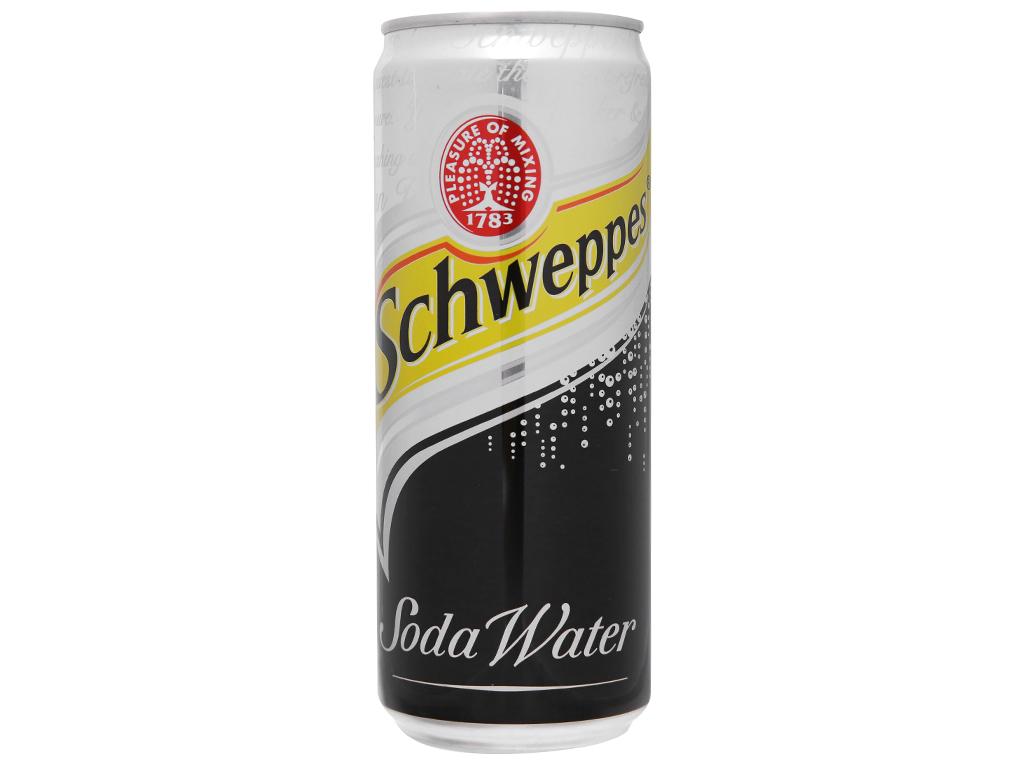 Lốc 6 lon soda Schweppes 330ml 3