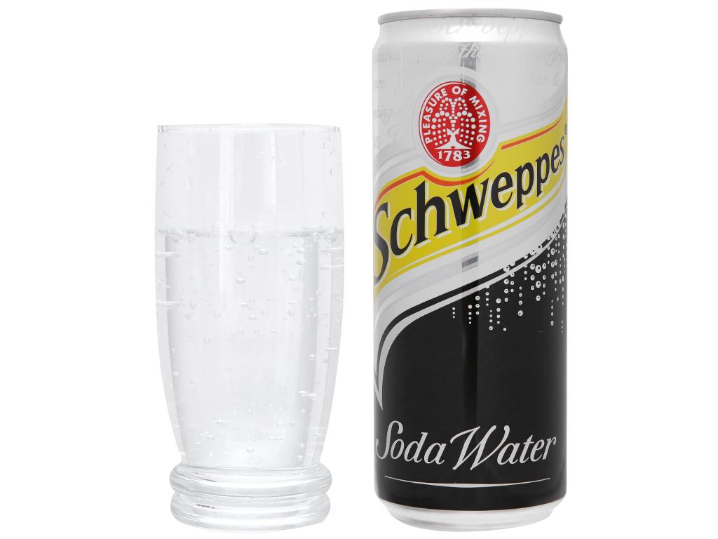 Lốc 6 lon soda Schweppes 330ml 5