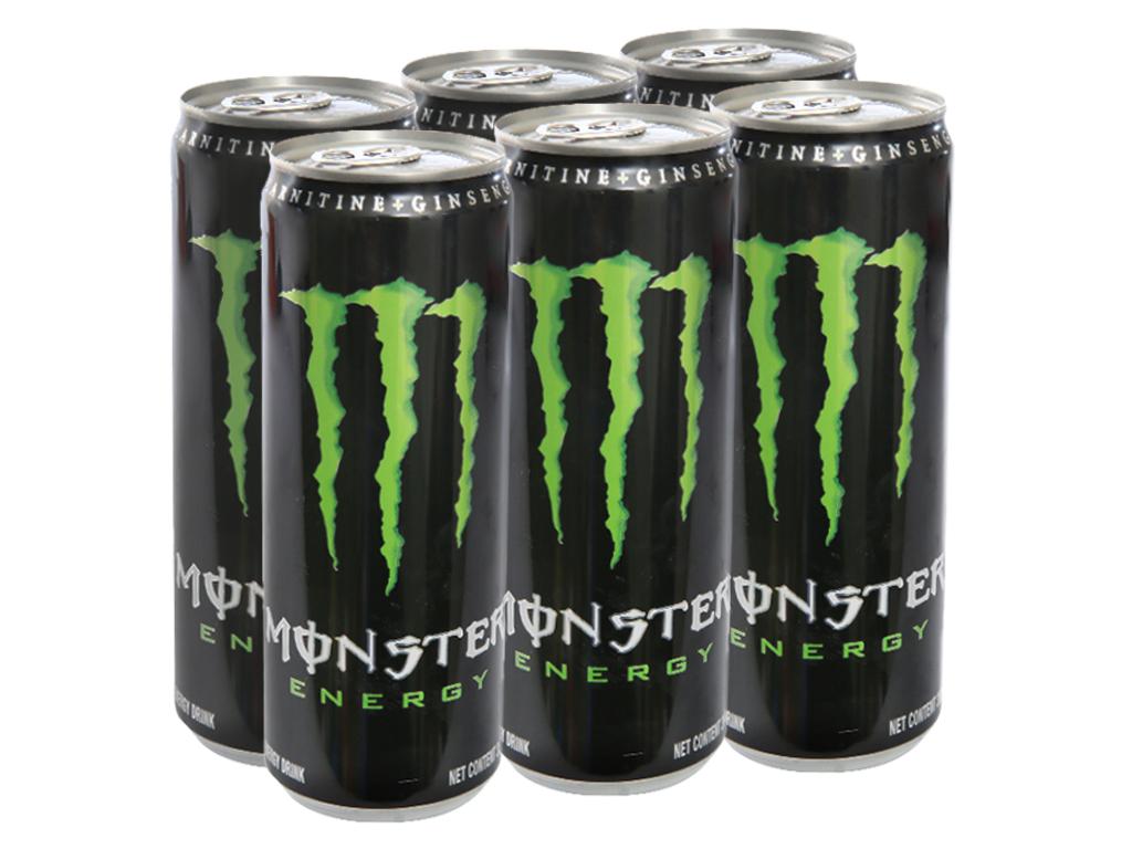 6 lon nước tăng lực Monster Energy 355ml 1