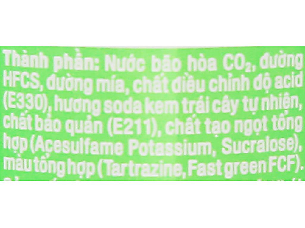 Nước ngọt Fanta hương soda kem trái cây 330ml 3