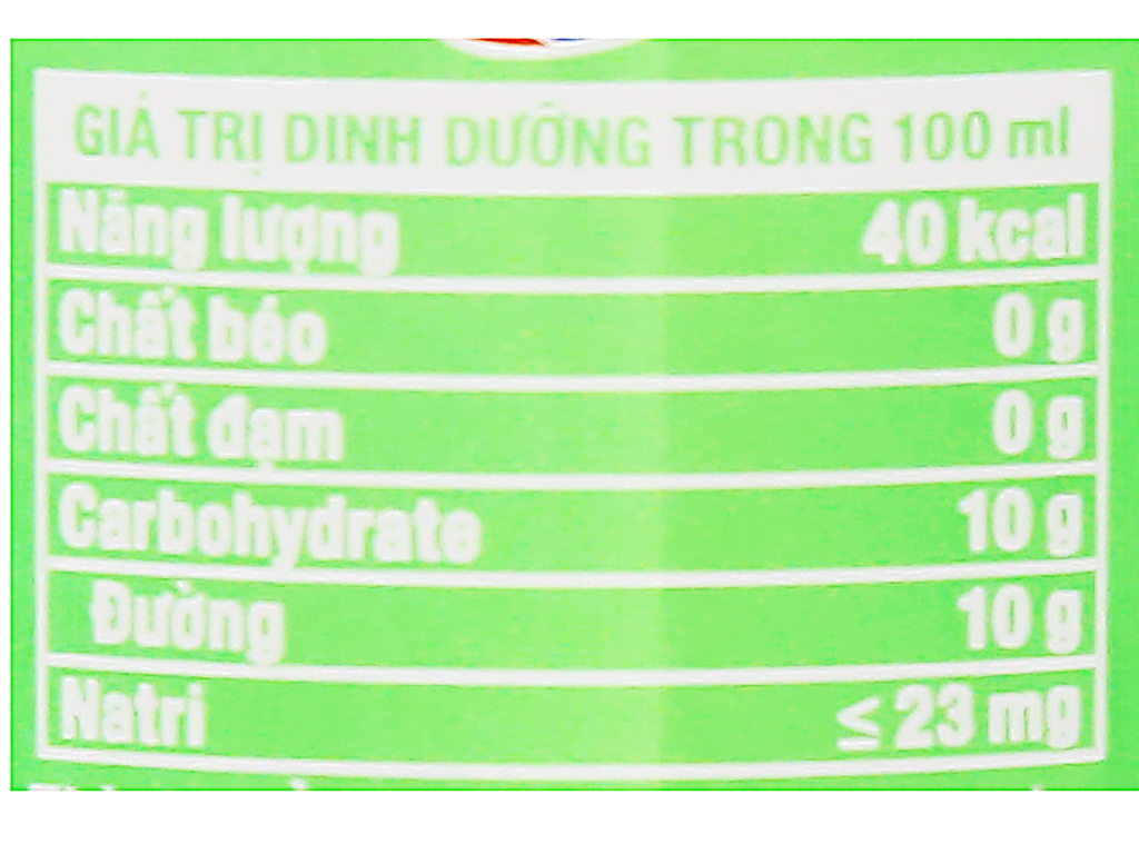 Nước ngọt Fanta hương soda kem trái cây 330ml 4
