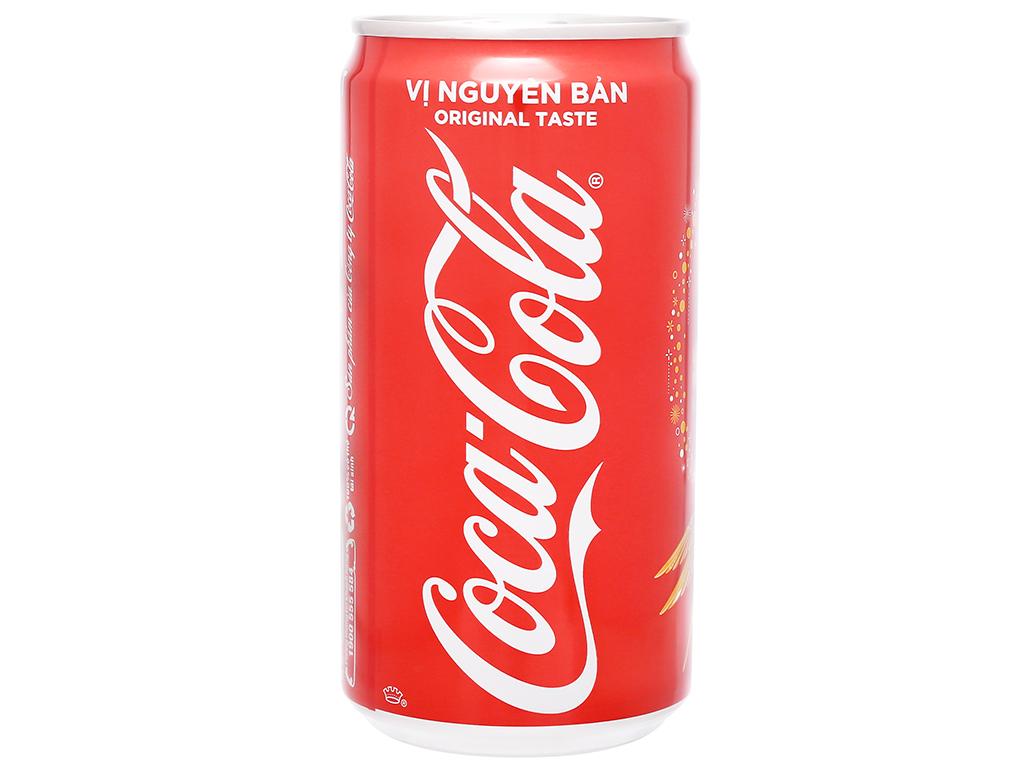 Thùng 24 lon nước ngọt Coca Cola 250ml 1